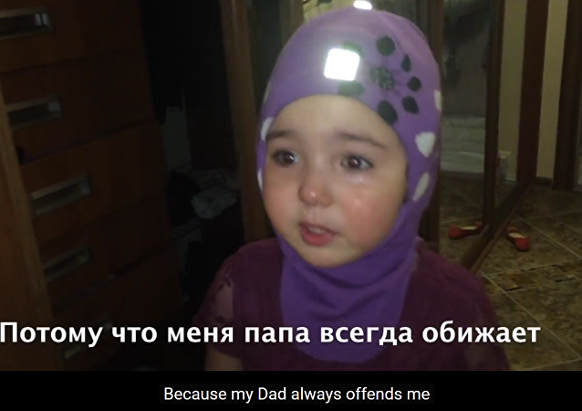 "A video of a little Russian girl having a major fit and threatening to run away to Africa, where she'd starve herself to death because her parents ""always"" discipline her for not behaving well went viral on the Internet with almost 1.5 million views."