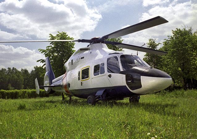 A Kamov Ka-62 helicopter