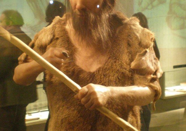Neandertal man replication