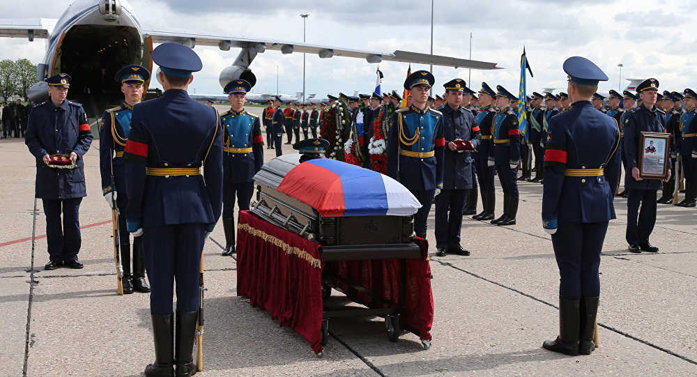 Body of serviceman Alexander Prokhorenko killed in Syria, to be flown to Orenburg