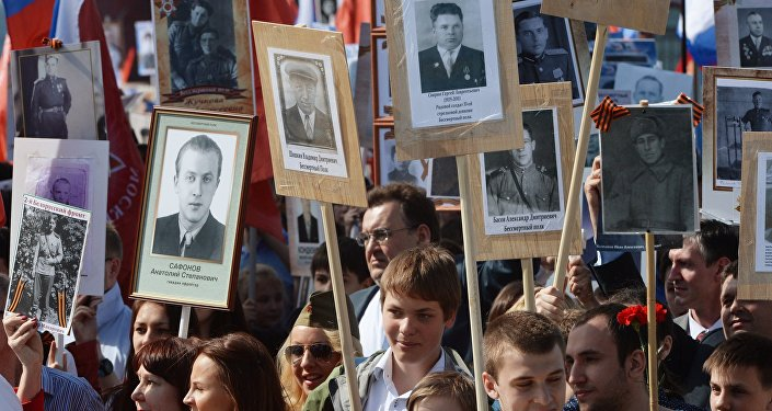 Immortal Regiment march being held in Kyiv