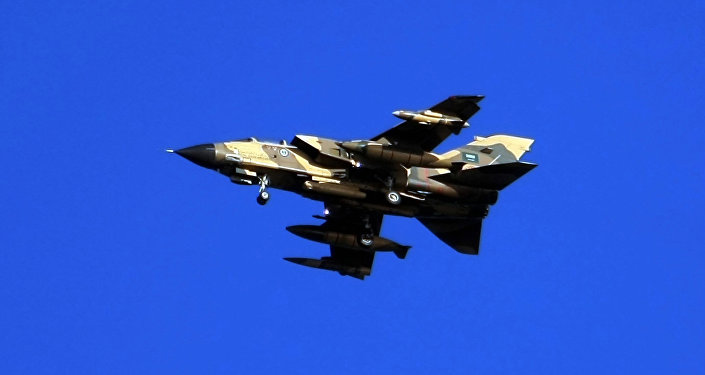 Saudi Tornado warplane. file photo