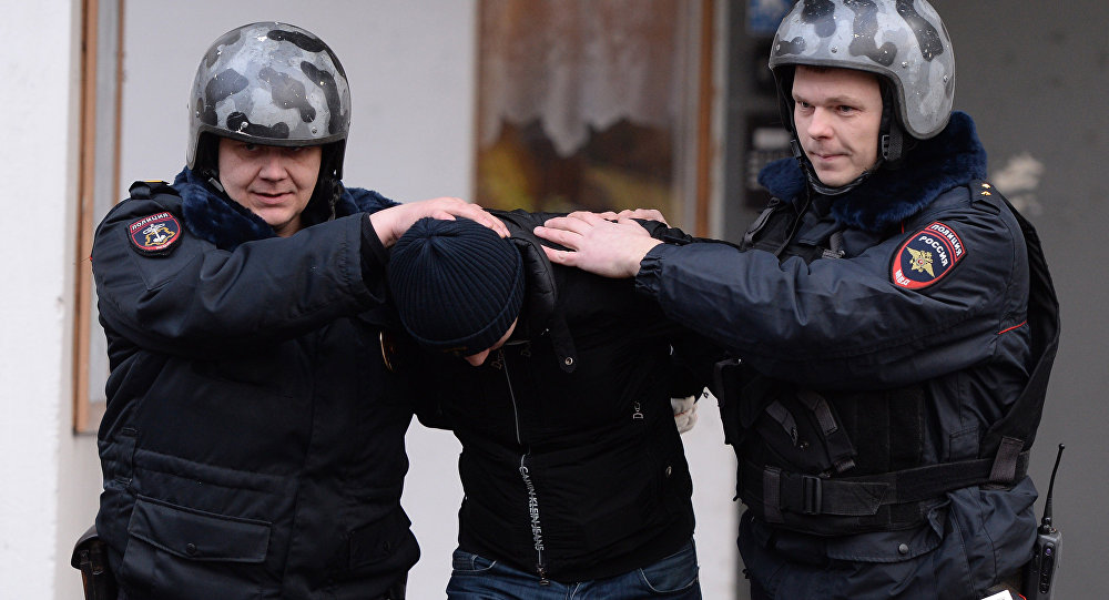 Private security officer at Russian Internal Affairs Ministry Main Directorate