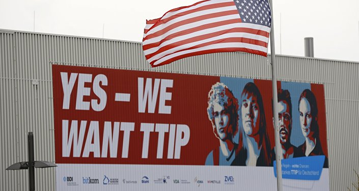 Germany's Merkel rejects economy minister's claims on TTIP