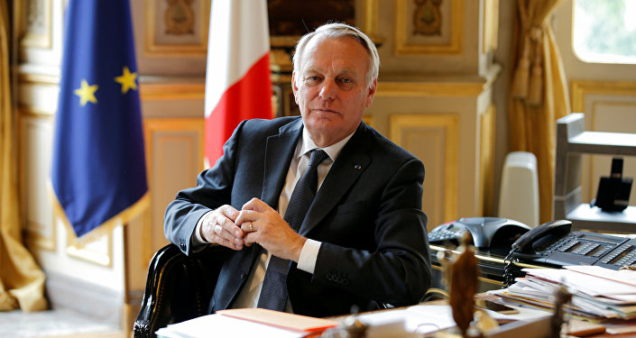 French Foreign Affairs Minister Jean-Marc Ayrault.