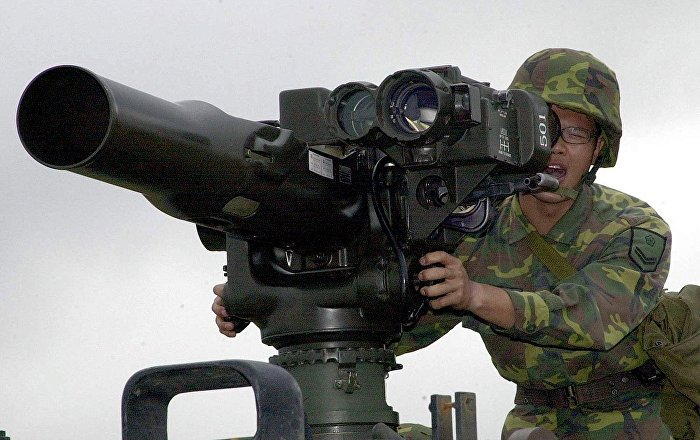 Russian Military Finds Militants' Depots With NATO Weapons