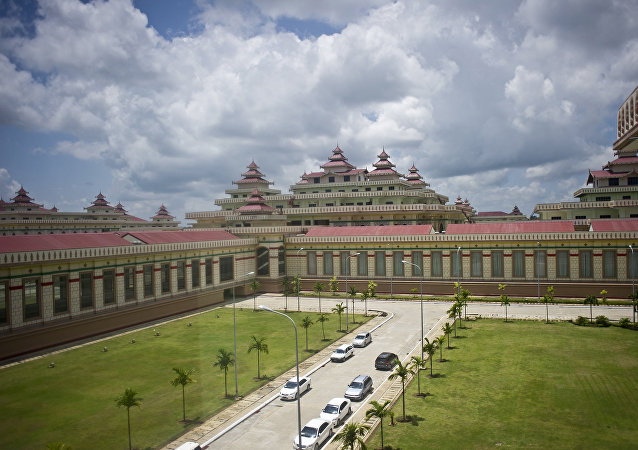 Parliament Building of Myanmar