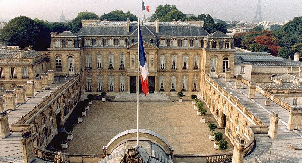 Elysee palace, Paris