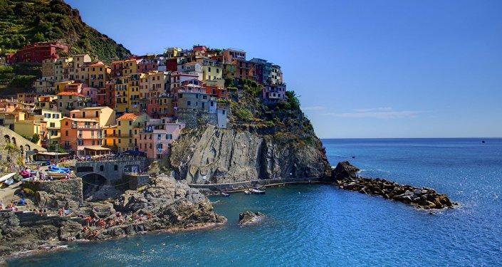 Manarola, Liguria, Italy.