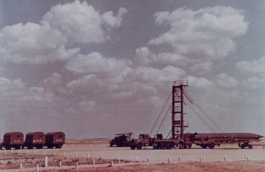 R-5M ballistic missile launching site, 2 hour readiness