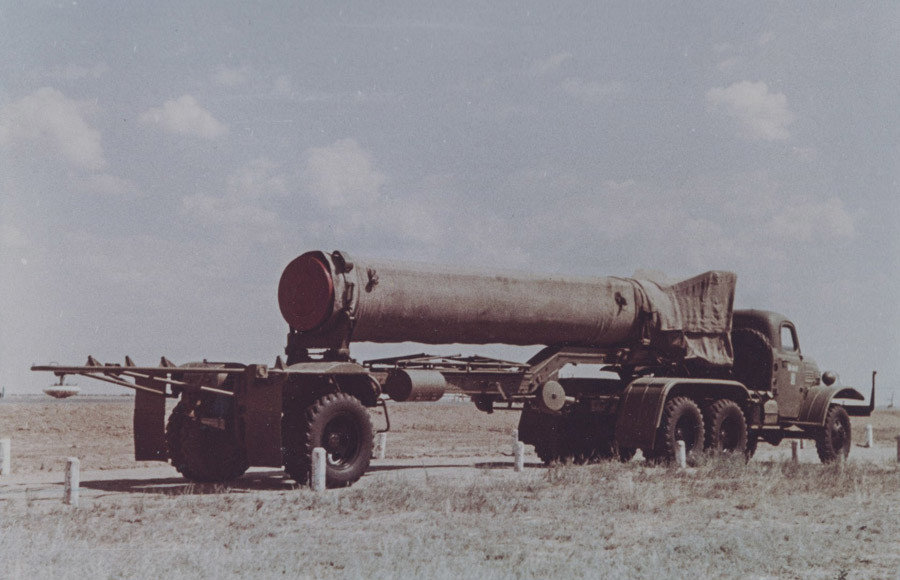 R-11 liquid-propellant missile