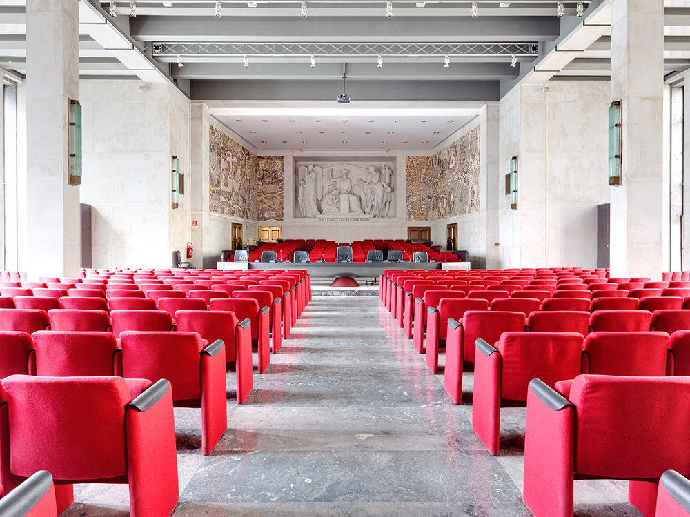 Fragments of Justice: Unique Style and Atmosphere of Italian Courthouses