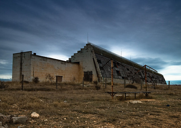 The Dnepr early warning radar station