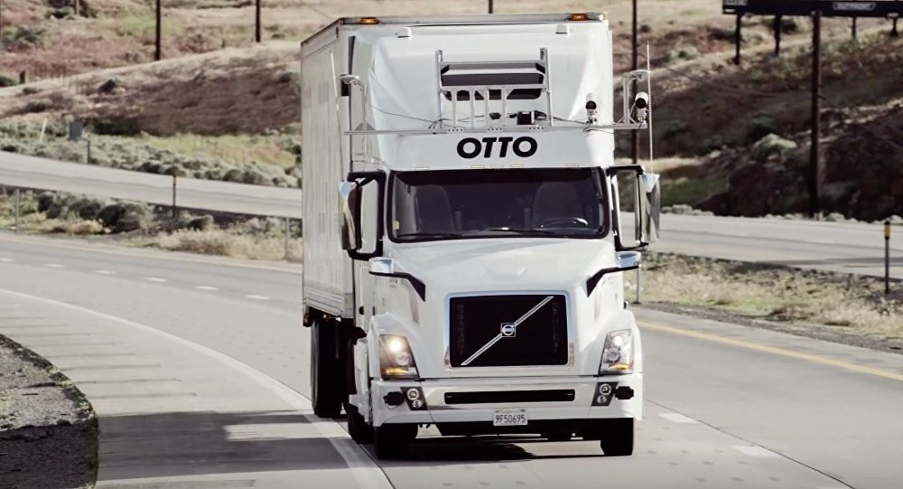 Otto – self-driving truck