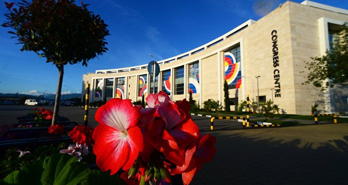 The Sochi Congress Centre, pictured, will be a venue of the ASEAN-Russia Summit