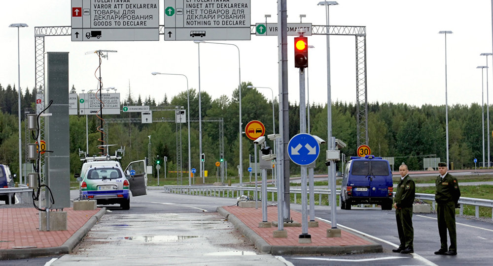 A new road between 'Brusnichnoye' and 'Nuiyamaa' frontier crossing points