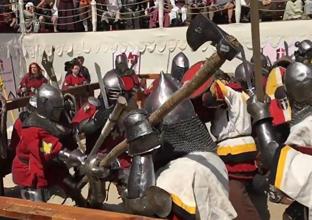 Battle of the Nations 2016: Sports, Medieval Style