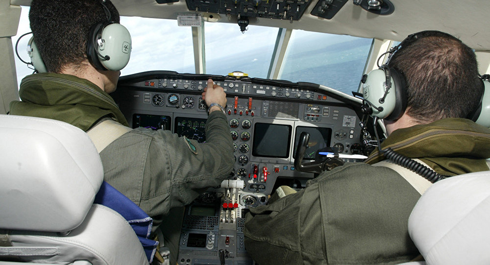 French pilots, Falcon 50