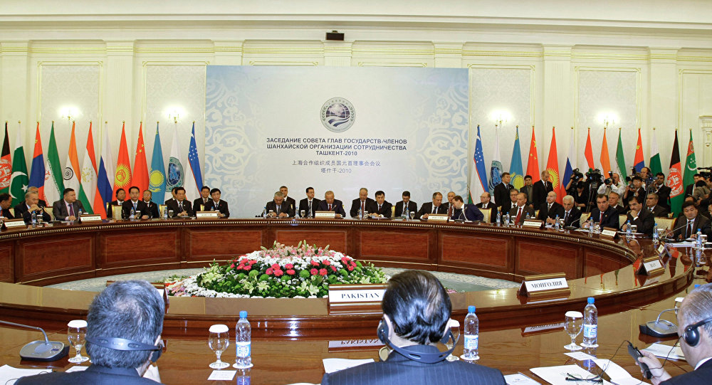 Shanghai Cooperation Organization (SCO) Summit in Tashkent (file)