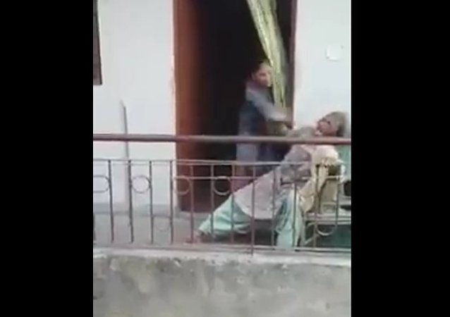 Geriatric Abuse: Elderly Woman Spotted Being Beaten by Her Daughter