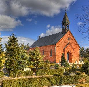 Blavand Church, Denmark (image used for illustration purpose)
