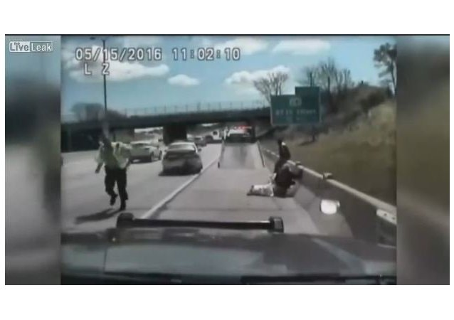 Dashcam Shows Woman Nearly Run Over Two Sheriff's Deputies