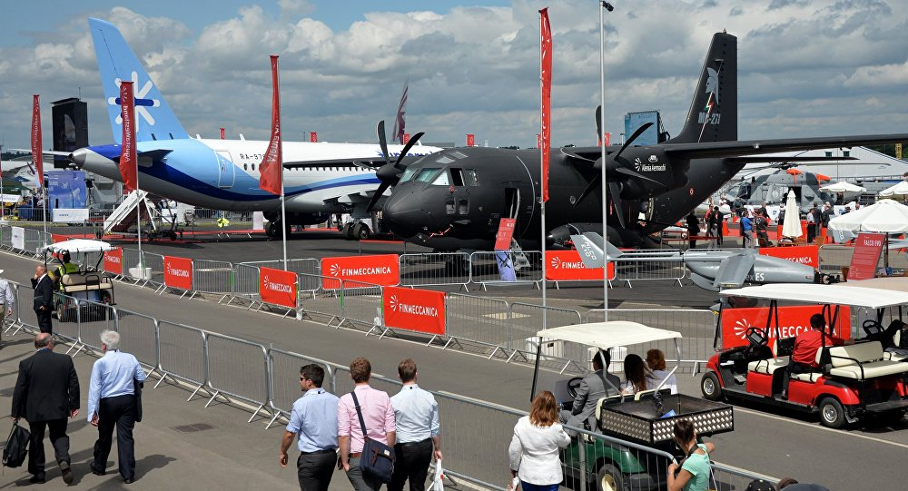 International Farnborough Airshow 2014. File photo