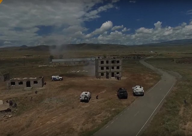 Drone Footage Captures Russian and Former CIS Countries Anti-Terror Drills