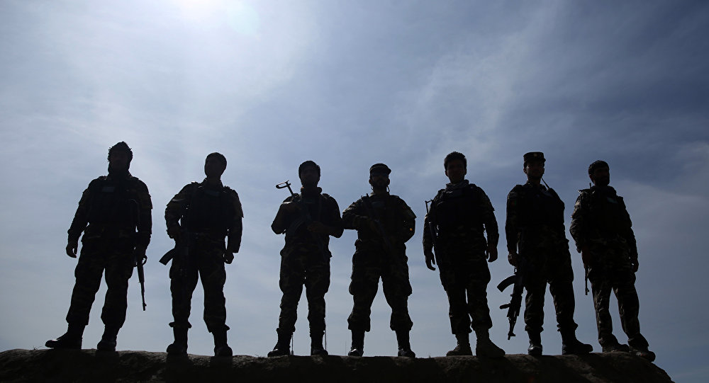 Afghan security forces. (File)