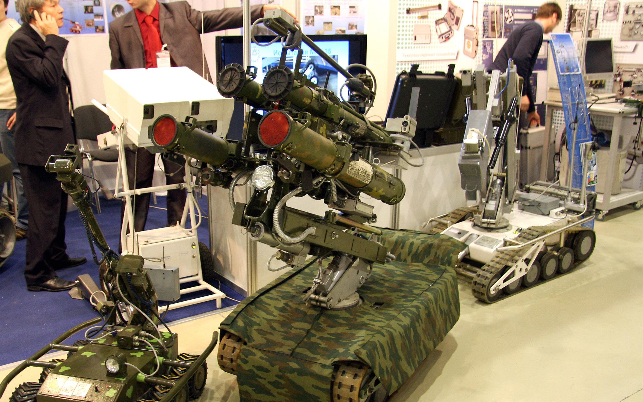 Robot MRK-27 BT