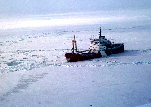 Canadian Coast Guard Ship Griffon. (File)