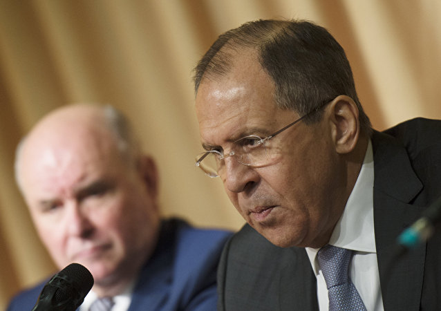 Foreign Minister Sergey Lavrov meets with representatives of Russian non-profit organizations