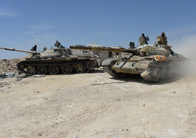 Syrian Army. File photo