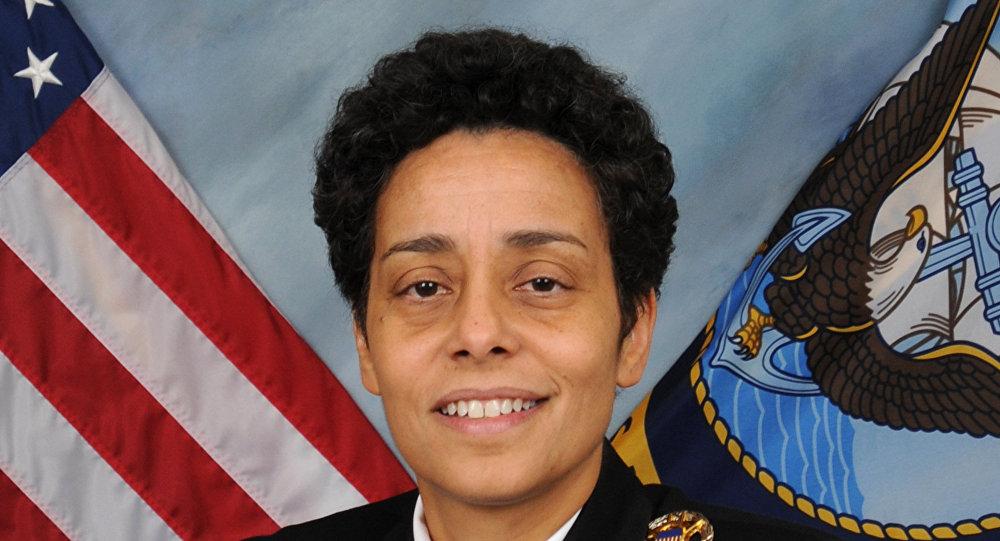 US Navy Admiral Michelle Howard