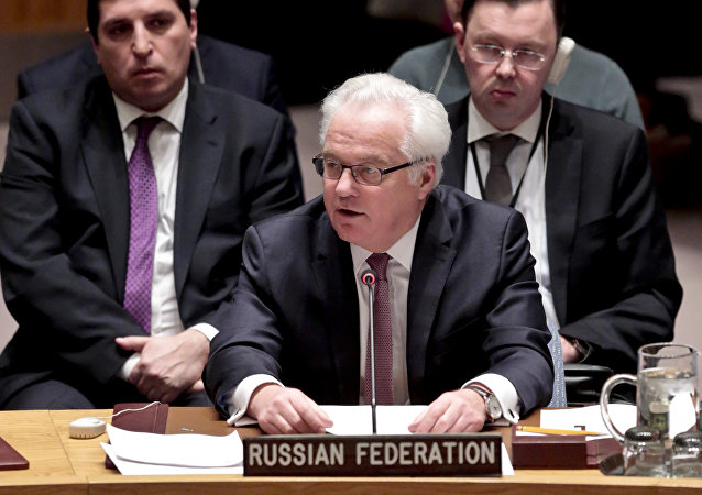Russia's U.N. Ambassador Vitaly Churkin. (File)