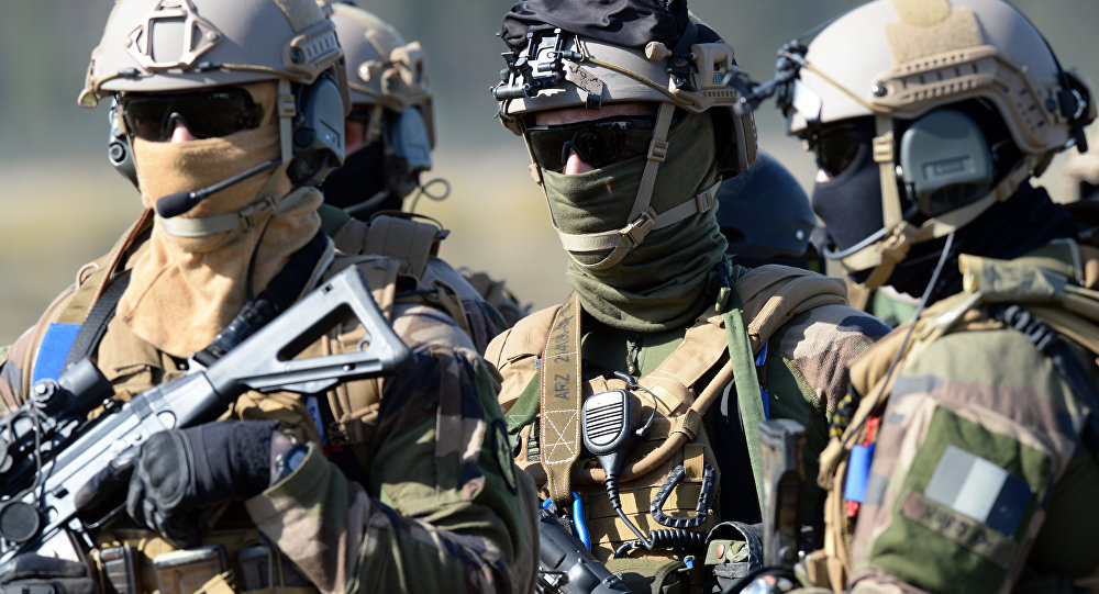 Members of French army special force (file)