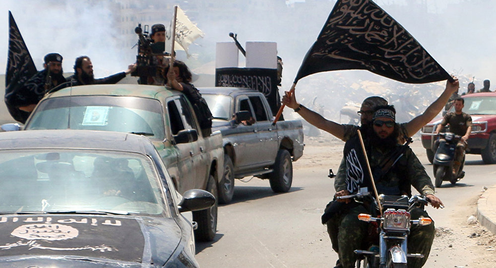 Fighters from al-Qaeda's Syrian affiliate al-Nusra Front. (File)