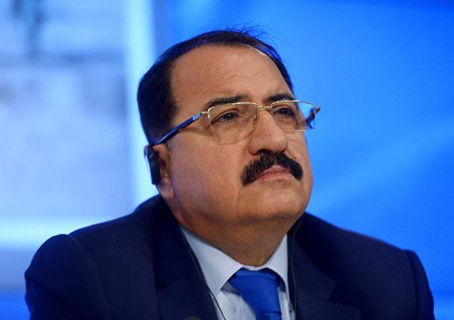 Riad, Haddad, Extraordinary and Plenipotentiary Ambassador of the Syrian Arab Republic to the Russian Federation