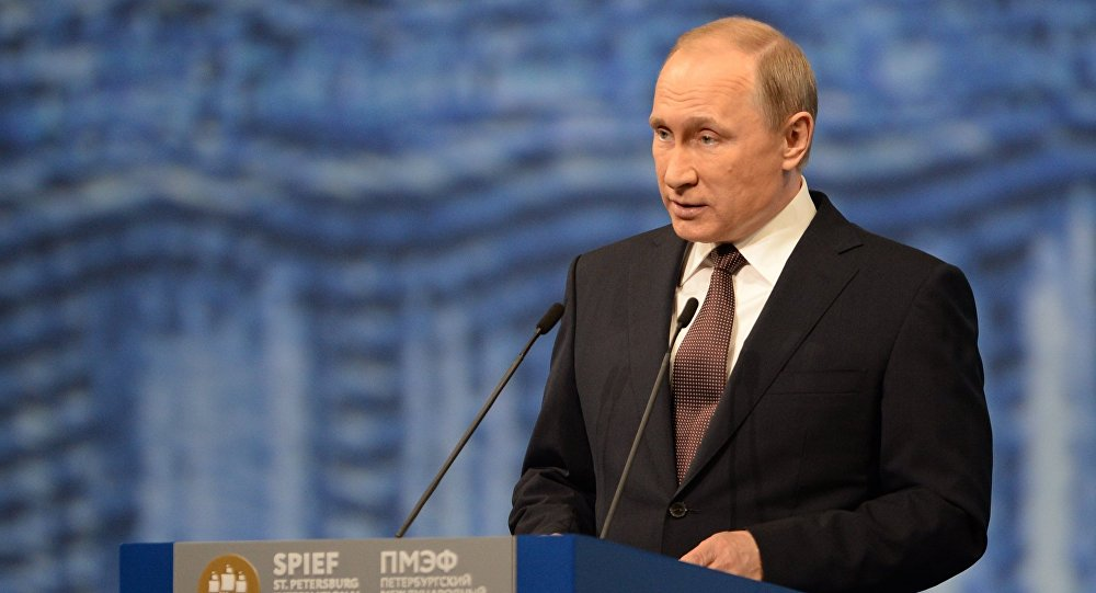 Russian President Vladimir Putin's visit to St. Petersburg. Day two