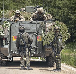NATO holds Saber Strike exercise 2016 in Estonia