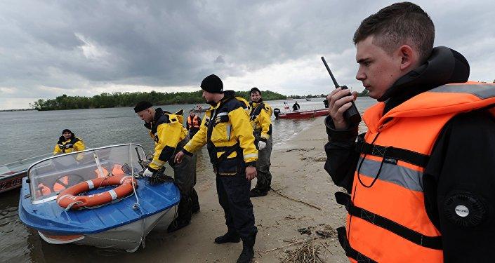 Russian EMERCOM rescue workers. File photo