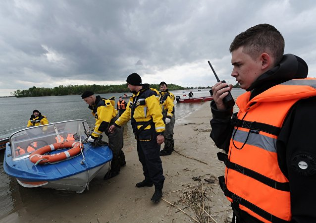 Russian rescue workers. File photo