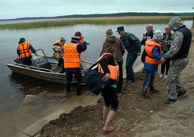 Rescue Operation in Karelia