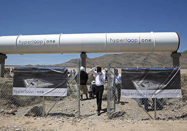 Hyperloop One propulsion system