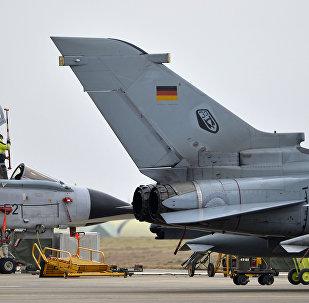 A German Tornado jet. File photo
