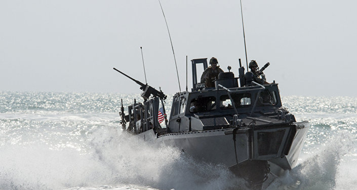 Riverine Command Boat (RCB) 805 in the Persian Gulf. (File)