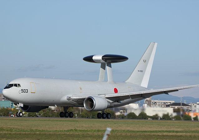 Boeing E-767 AWACS aircraft
