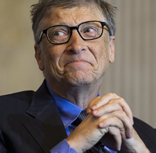 Bill Gates, co-chair of the Bill and Melinda Gates Foundation and founder of Microsoft, participates in the Financial Inclusion Forum at the Treasury Department in Washington, DC, December 1, 2015.
