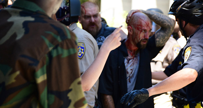 Beaten and Stabbed: Neo-Nazi Rally in California Leave Several Injured (VIDEO)
