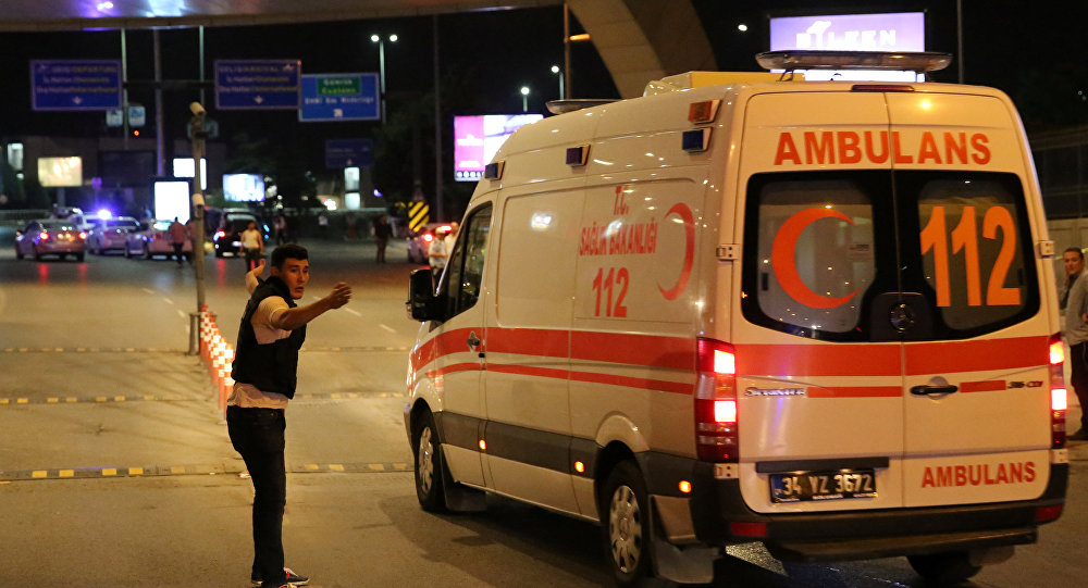 Two civilians killed in cross-border rocket attacks in Turkey's south